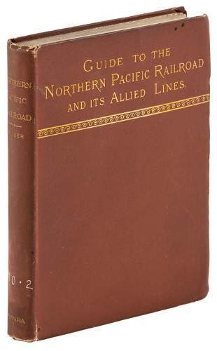 1883 guidebook to Northern Pacific Railroad