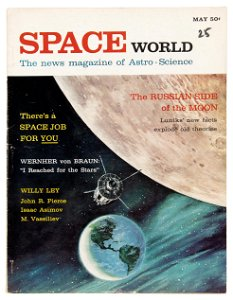First American Space magazines, scarce