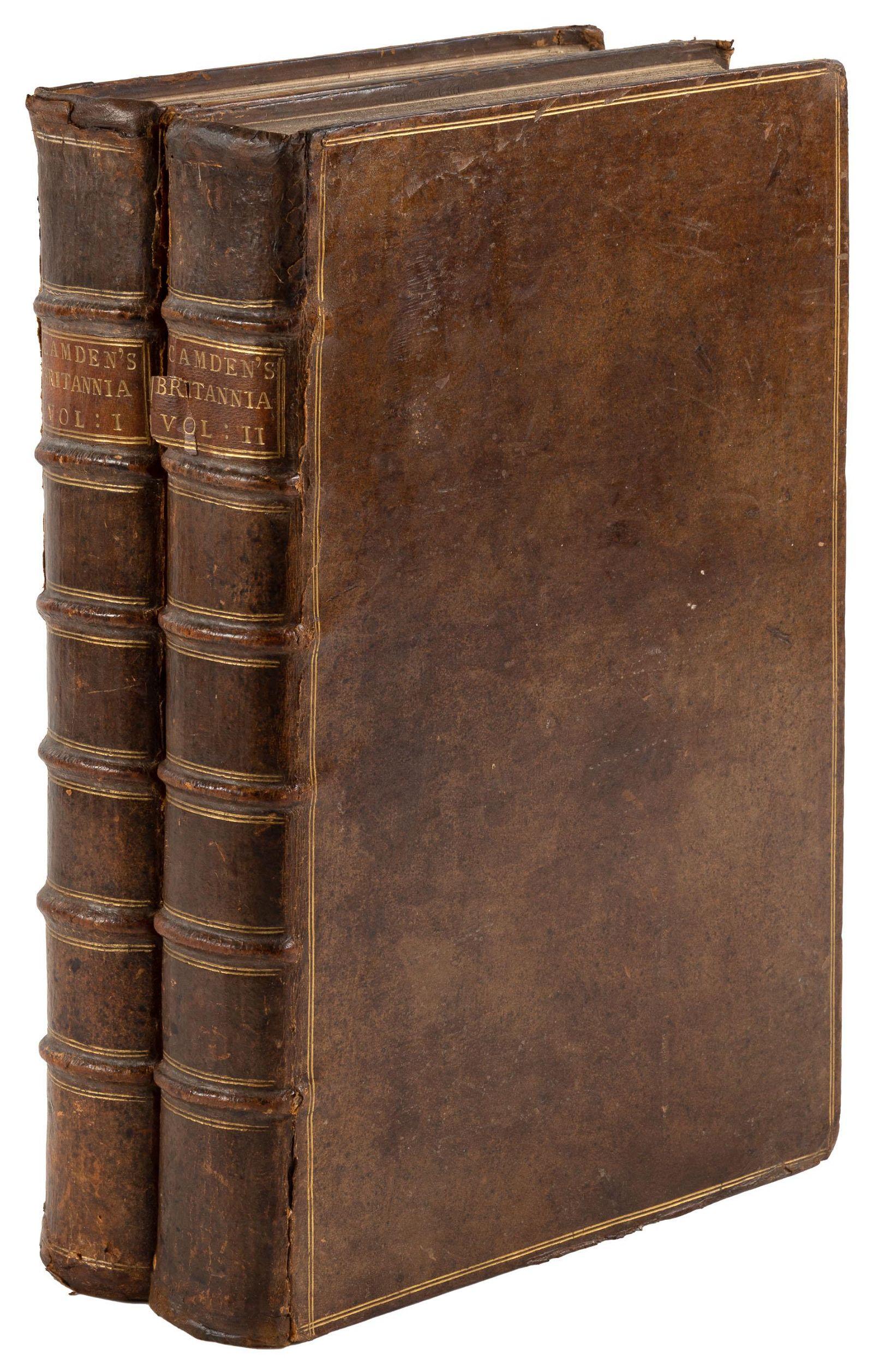Camden's Britannia, second edition [1722]