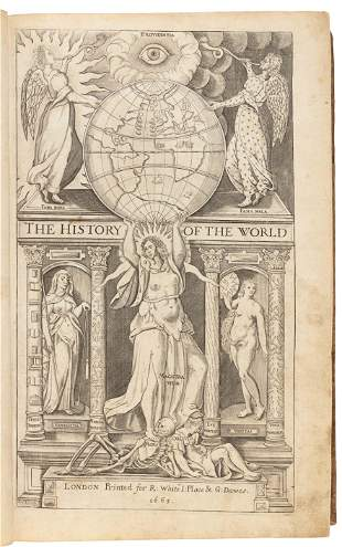 Raleigh's History of the World, 1665 edition