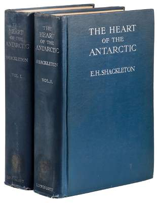 Shackleton's Heart of the Antarctic, 1909