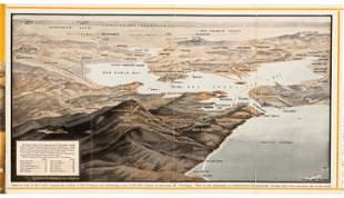 Mt. Tamalpais & Muir Woods R.R. aerial map, 1923