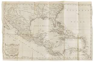 Settlements in Mexico or New Spain 1783