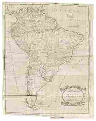 Settlements in South America 1783
