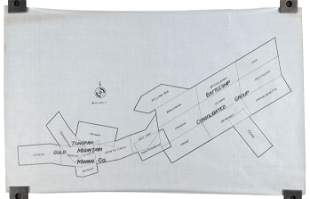 Map of Tonopah Gold Mountain Mining Co.