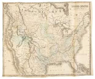 Philip map of U.S. in 1852