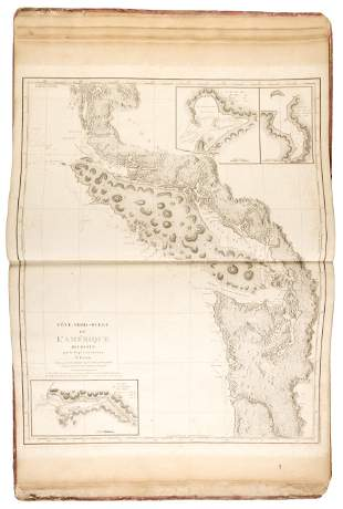 French atlas volume to Vancouver's Voyage