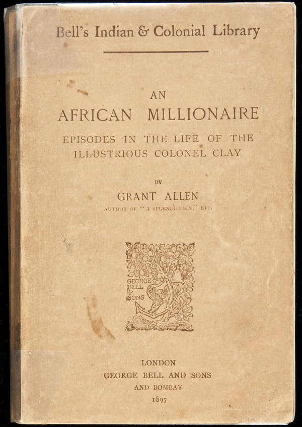 2: An African Millionaire HQ cornerstone 1st wrapper
