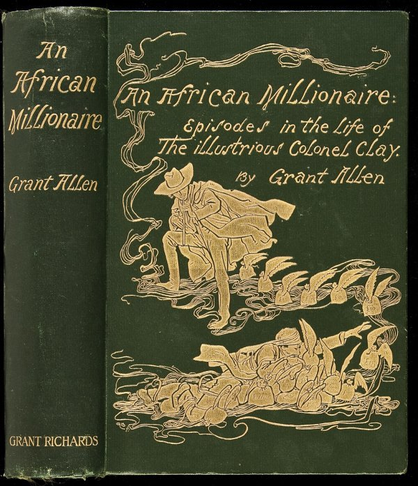 3: An African Millionaire by Grant Allen 1st ed