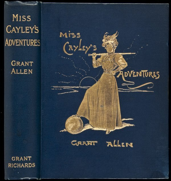 5: Miss Cayley's Adventures by Allen Grant 1st ed