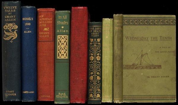 6: Eight volumes by Grant Allen