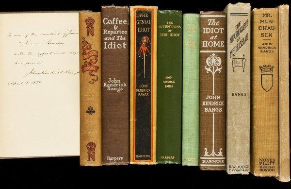 11: Ten novels by John Kendrick Bangs
