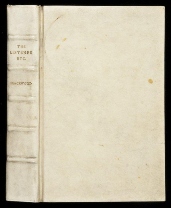 13: Algernon Blackwood The Listener 1907 1st Ed.