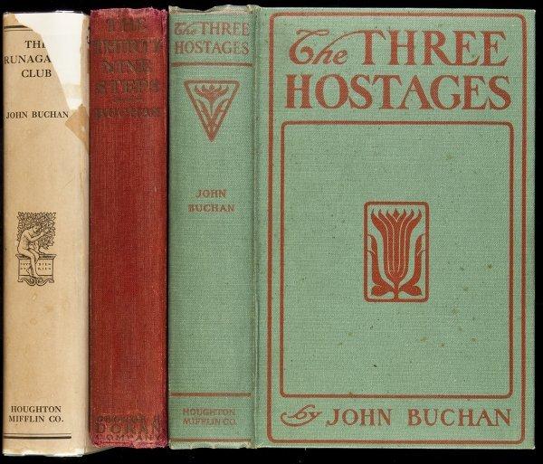 22: Three novels by John Buchan - 1 in dj