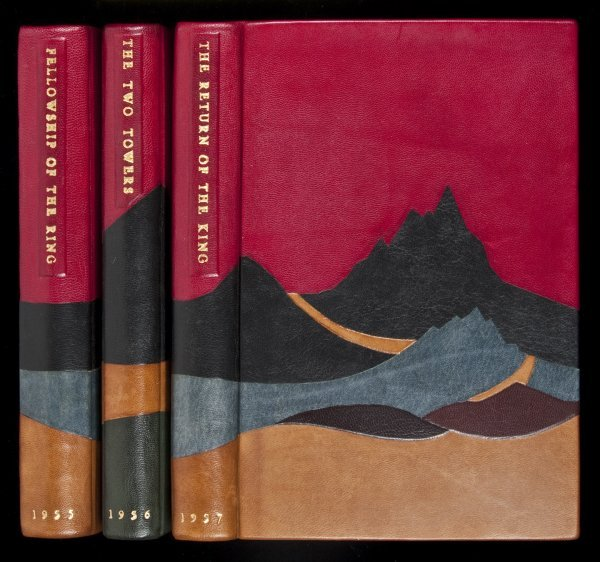 213: Tolkien's Lord of the Rings Trilogy Finely Bound