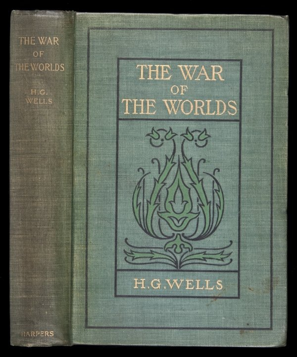 245: H.G. Wells War of the Worlds 1st American Edn