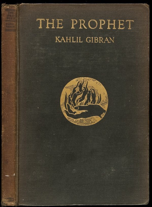 320: First Edition of Kahlil Gibran's The Prophet