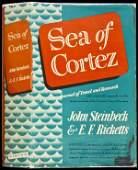 394 Steinbeck  Ricketts Sea of Cortez 1st Ed in dj