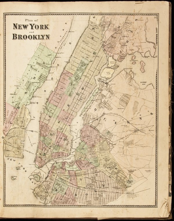 1: Atlas of New York and Vicinity 1867