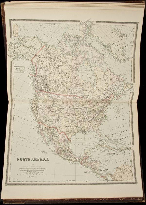 2: Bradley's Atlas of the Western Hemisphere 1889
