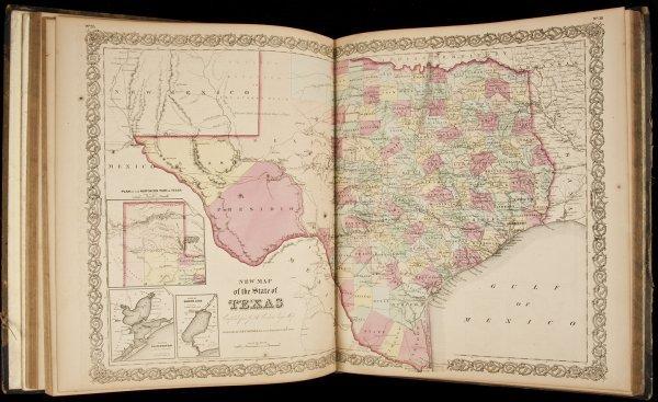 4: Colton's General Atlas 1859
