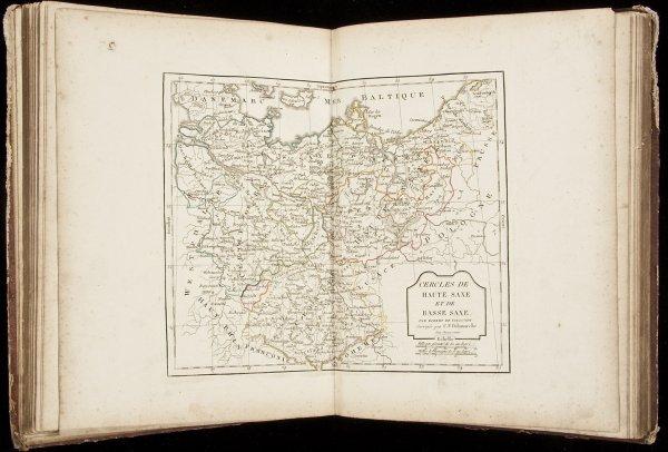 5: De Vaugondy's Nouvel Atlas c.1814