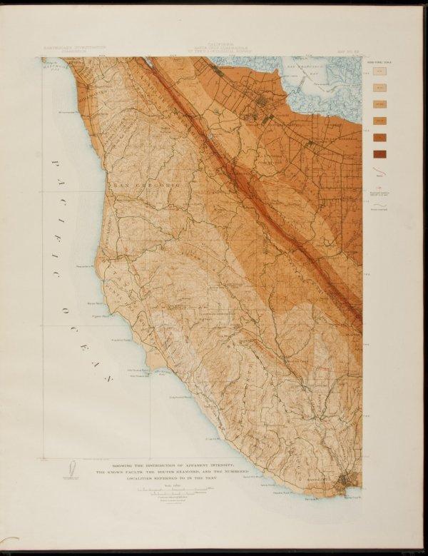 7: Atlas of San Francisco Earthquake