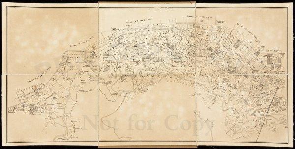 11: Plan of Central District, Hongkong c.1910