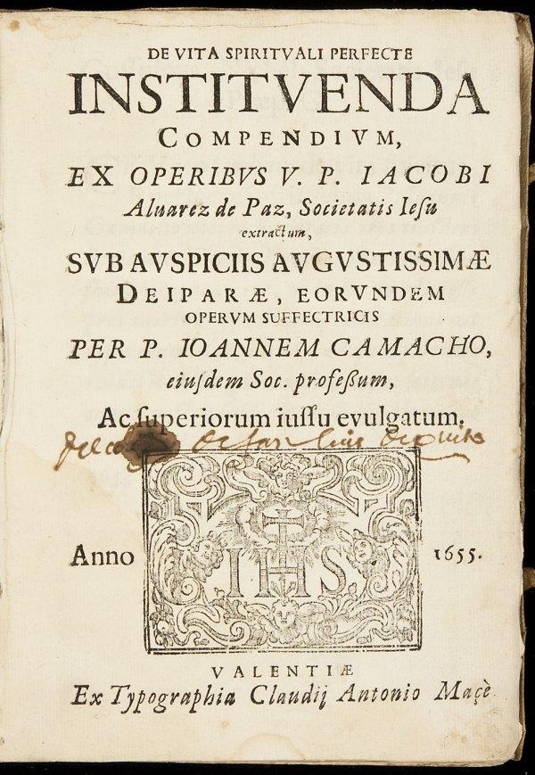 7: jesuit catholic mysticism early spanish printing