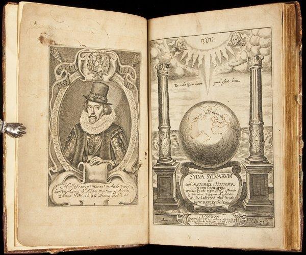 13: Francis Bacon Sylva Sylvarum 1651