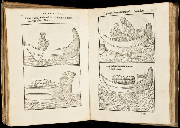 17: Baif Annotationes 1549 with woodcuts