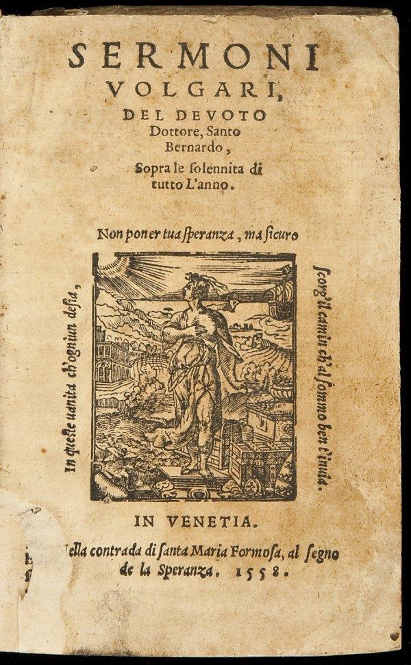 18: Sermons of Saint Bernard 1558