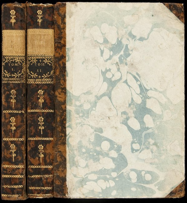 19: Opere of Bettinelli, 1780, Vols. I & II