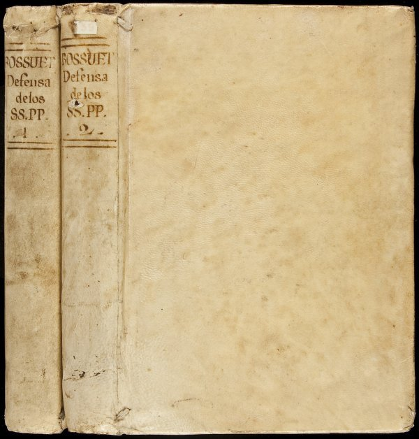 24: Bossuet Defense of Tradition 1778 Spanish ed.