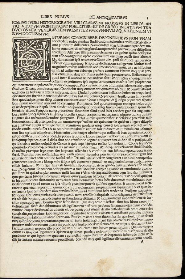 94: 1499 Edition of Josephus