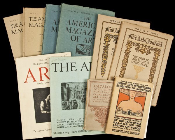 3: 17 issues of American art mags/pubs various title