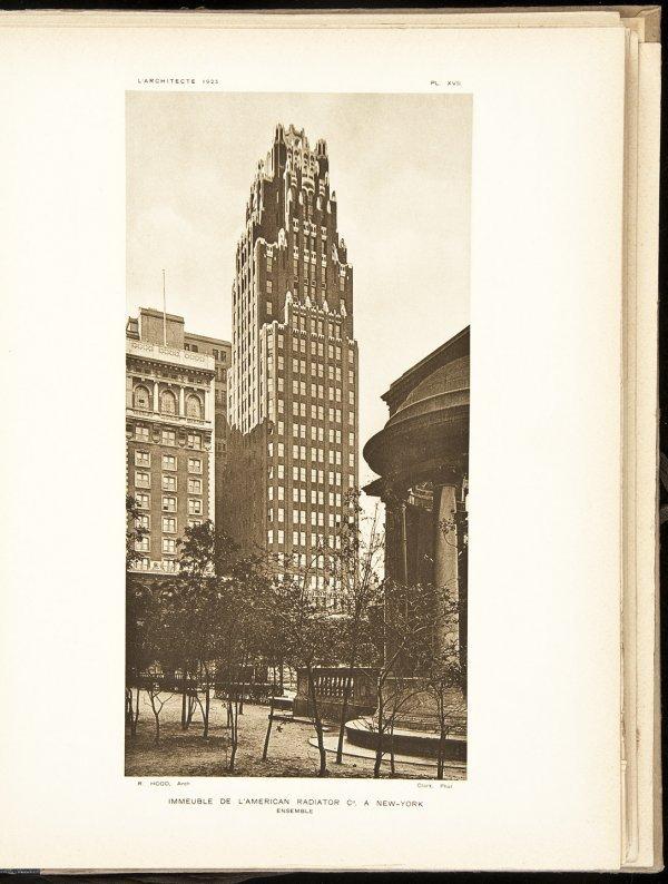 7: L'Architecte New Series Second Year 1925