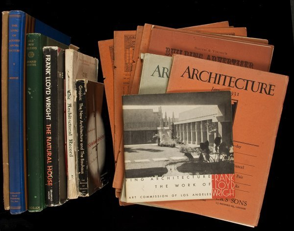 8: 16 volumes or periodicals on architecture