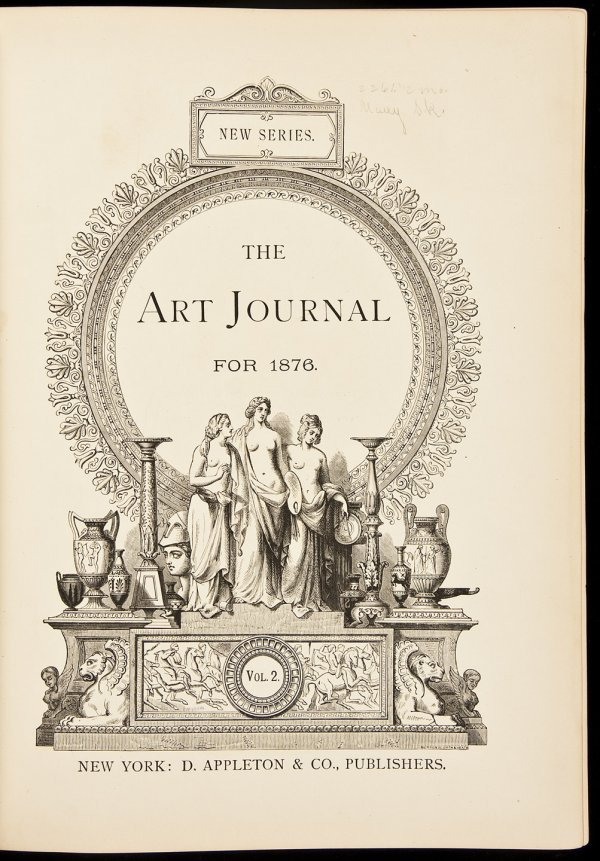 11: Art Journal for 1876 Vol. 2 D. Appleton