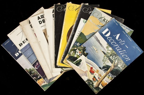 14: Arts & Decoration - 19 issues from 1933-37