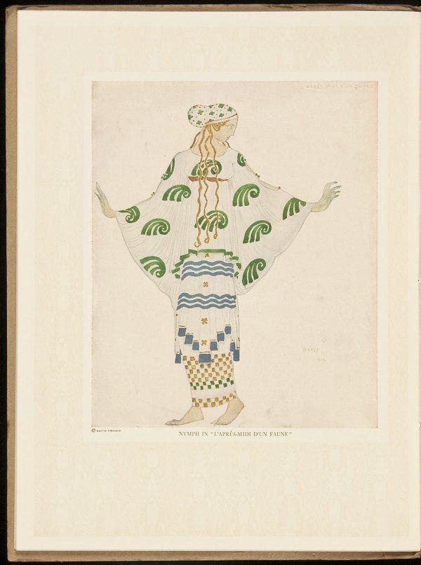 17: Souvenir Serge de Diaghileff's Ballet Rouse 1916