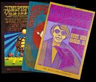 136 10 Bill Graham concert posters 1960s