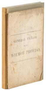 Zachary Taylor and the Wilmot Proviso