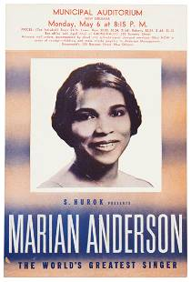 Marian Anderson's New Orleans concert, 1940