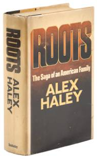 Roots by Alex Haley, signed