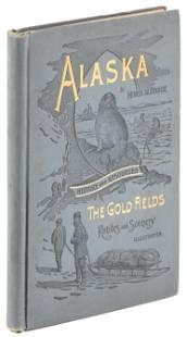 Alaska by Bruce W. Miner w/ folding map 1895