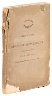 1857-1858 Arkansas Geological Reconnaissance