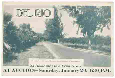 Florida real estate along the Dixie Highway 1924