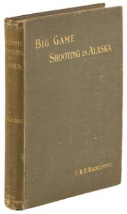 Big Game Shooting in Alaska w/ folding map