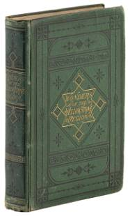 First Yellowstone guidebook 1874, w/ maps